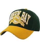 Green Bay Team Color City Name Embroidered Baseball Cap - $13.75