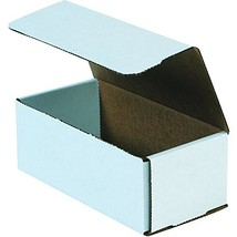 Boxes Fast BFM843 Corrugated Cardboard Mailers, 8 x 4 x 3 Inches, Tuck T... - $46.13
