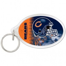 Chicago Bears Key Ring Acrylic Carded**Free Shipping** - $14.20