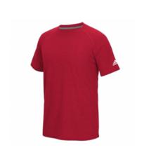 Adidas Climalite Ultimate Taglia S (S) Uomo T-Shirt Manica Corta Rosso