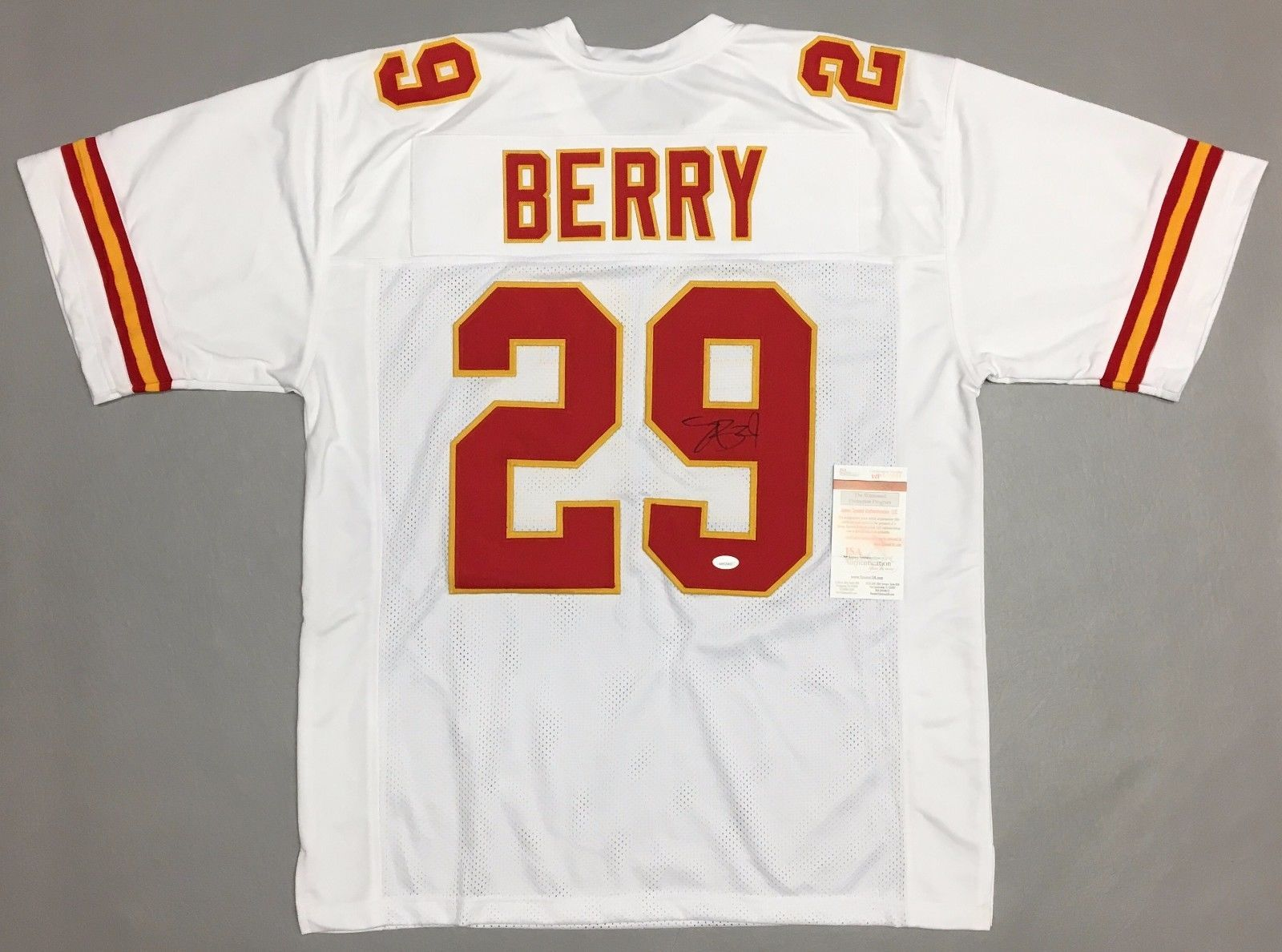 2681ca1b32b Eric Berry Autographed Cheifs Jersey With and 50 similar items