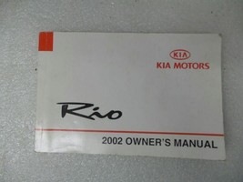 2002 Kia Rio Owners Manual 17035 - $13.81