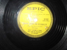 78 rpm record-Roy Hamilton Orchestra - $2.50