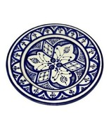 "GGE ""SOUK-SAFI BLUE"" Terracotta Pasta Plate Bowl Pottery MOROCCAN ART 10... - $58.41"
