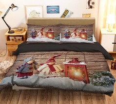 3D Christmas  Xmas 06 Bed Pillowcases Quilt Duvet Cover Set Single Queen... - $64.32+