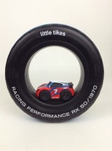 Little Tikes Tire Racers Race Car Toy Rolling Wheel Kid Powered Pull Bac... - $12.42