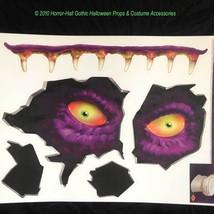 Creepy Toilet Monster--CRAPPER CREATURE--Wall Floor Ceiling Horror Stick... - $7.89