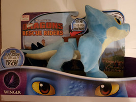 Winger Plush with Flapping Wings How to Train Your Dragon Rescue Riders - $23.76