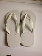 New Havaianas Flip Flops  New Women 's Sandals Shoes White 7/8 Sandals - $22.15