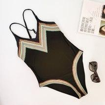 """One Piece Swimsuit 2019 Sexy Women""""s Print Swimsuit Sling Swimwear Bathing Monok image 5"""