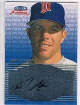 2000 Fleer Focus Fresh Ink #1 Chad Allen Rookie Card Auto  - $8.87