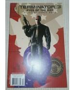 Terminator 3 Eyes Of The Rise # 4 Ocotber 2003 Beckett Comics - $1.82