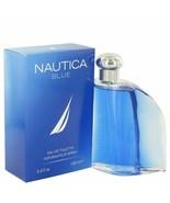 NAUTICA BLUE by Nautica Eau De Toilette Spray 3.4 oz for Men - $21.44