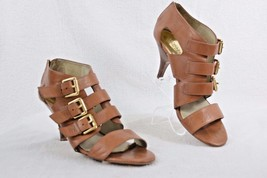 Michael Kors Women's Leather Strappy Gladiator Heels, Size 10 H11 - $18.00