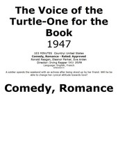One for the Book /The Voice of the Turtle 1947 #2570  TV Movie DVD - $2.29