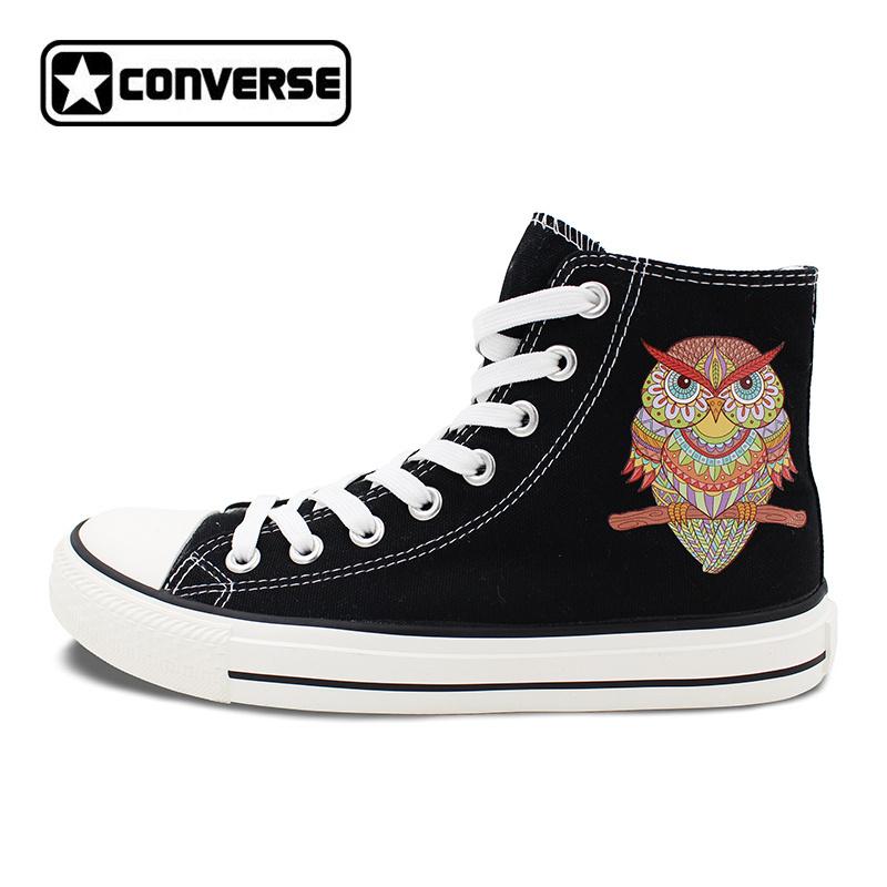 1178c30e866f Htb1fwumdfmtuejjszfkq6ygopxac. Htb1fwumdfmtuejjszfkq6ygopxac. Previous. Owl  Totem Original Design Converse Canvas Shoes Men Women High ...