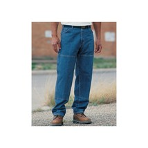 Dickies Relaxed Straight 6-Pocket Jeans, Men's  42x30, Blue #J185 - $29.99