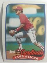 TOPPS 1989 CARD #588 LUIS ALICEA - $0.99