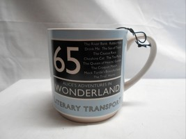 Will & Wolf NWT Literacy Transport Coffee Cup #65 Wonderland Adventure - $8.86