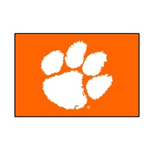 "Fanmats NCAA Clemson Tigers Rookie Mat, Area Rug, Bath Mat 20""x30 Del 2-4 Days - $16.82"