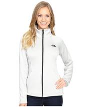 THE NORTH FACE SALE Women Agave Full Zip Jacket Soft Fleece Coat Lunar G... - $56.07