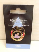Walt Disney Ursula Pin From Little Mermaid. 100 Years Villains Theme. Very Rare - $25.00