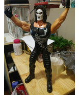 "WCW Sting Toy Biz Tuff Talking 12"" Vintage Action Figure 1999 used - £14.07 GBP"