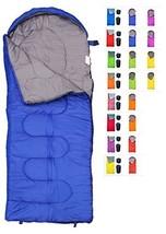 REVALCAMP Sleeping Bag for Cold Weather - 4 Season Envelope Shape Bags b... - £29.98 GBP