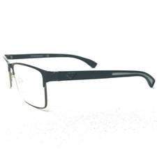 Emporio Armani EA1052 3155 Sunglasses Eyeglasses Frames Square Black Full Rim - $37.39