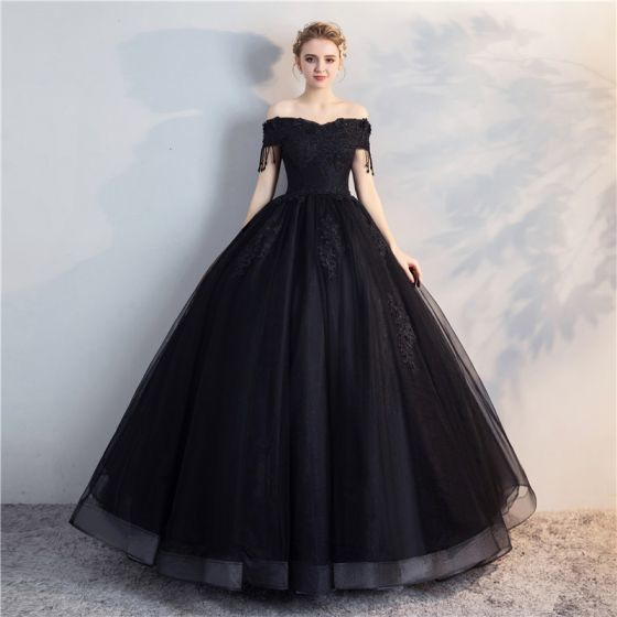 Affordable Black Puffy Quinceañera Prom and 50 similar items bbcfa22c046d
