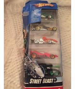 Pack of 5 Street Beast Hot Wheels Shark Tank Dinosaur Die-Cast Mattel Tr... - $24.23