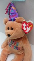 TY Beanie Baby- Collectable CELEBRATION the BIRTHDAY BEAR BEANIE BABY - $16.99