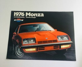 Vintage 1976 Monza 2+2 Hatchback / Towne Coupe Chevrolet 2-Door Sedan Brochure - $6.37