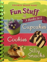 Fun Stuff: Cupcakes, Cookies, And Silly Snacks 3 Books In 1 by Publicati... - $14.84