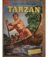 TARZAN SILVER AGE COMIC #72 1955 in THE SABLE LION~ PAINTED COVER - $6.92
