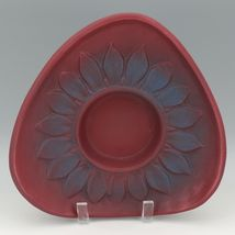 Vintage Van Briggle Art Pottery Persian Rose Mid Century Sunflower Arranger Bowl image 3