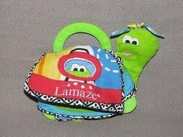 LAMAZE TURTLE TEETHER TEETHING BOOK TOY RATTLE SQUEAK DEVELOPMENTAL BABY... - $22.76