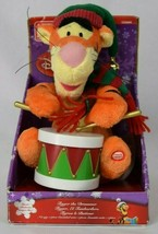 Animated Tigger The Drummer Christmas Toy Decoration Winnie The Pooh 2008 - $29.69