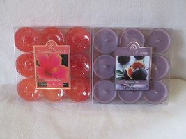 Colonial Candle~~TROPICAL NECTAR & TROPICAL FIG~~ Tealights 9/paks - $20.00