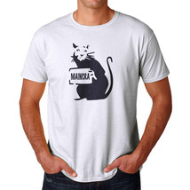 Tee Bangers Rata Maincra Men's White T-shirt NEW Sizes S-2XL - $9.89+