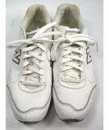 New Balance 450 White Gray Sneakers Shoes Womens Size 7.5 WA450PL - $19.59