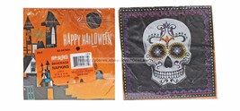 *HAPPY HALLOWEEN 20pc 2-Ply BEVERAGE NAPKINS Party Supplies NEW! *YOU CH... - £2.26 GBP