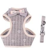 April Pets Comfortable Stylish Cotton Dog & Cat Harness Leash Set (Medium) - $53.69
