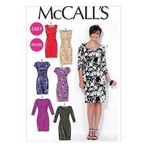McCall Pattern Company M7085 Misses'/Miss Petite Dresses, Size A5 - $14.21