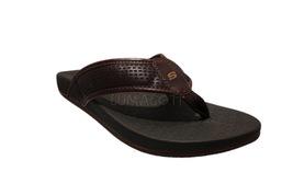 Skechers Relaxed Fit Pelem Emiro Chocolate Mens Flip Flops Sandals 65093 - $39.98