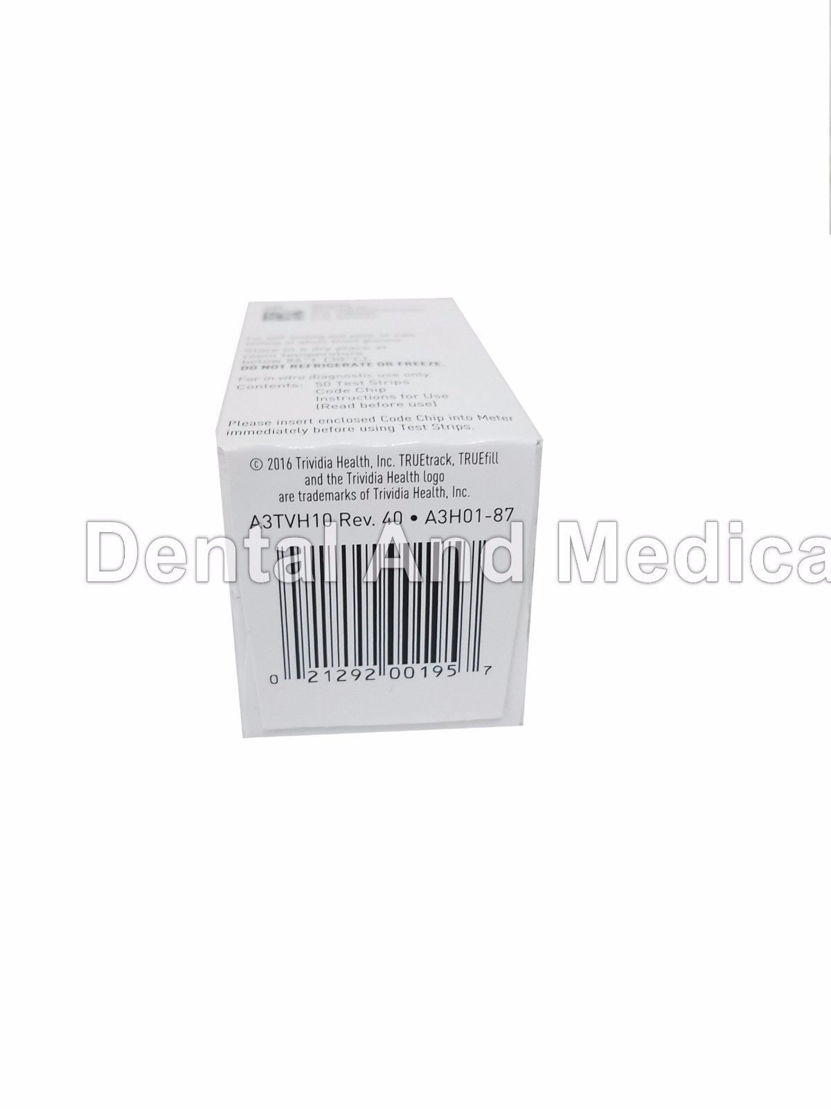 200 TRUE Track Diabetic Test Strips 4 x 50ct and 50 similar