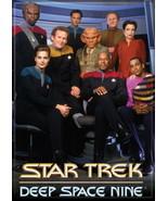 Star Trek Deep Space Nine Full Cast Image Refrigerator Magnet, NEW UNUSED - $3.99