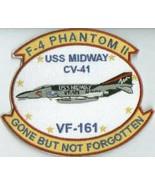 USAF VF-161 F-4 Phantom CV-41 USS MIDWAY Patch Sticker NEW!!! - $9.89