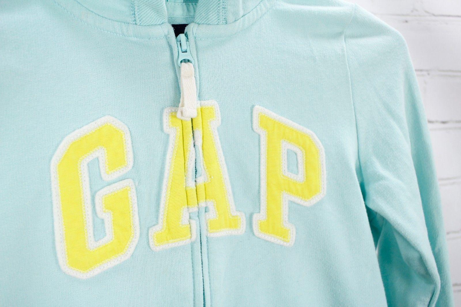 Gap Kids Logo Full Zip Hoodie Sweatshirt + Jeans Girls Size L 10 Outfit Set  image 4