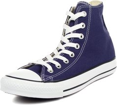Converse The Chuck Taylor All Star Hi Sneaker in Blue Ribbon,6M / 8W,Blue - $54.45